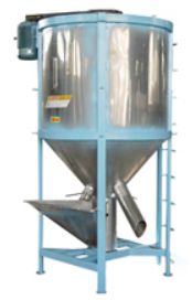 Vertical Mixer with dryer