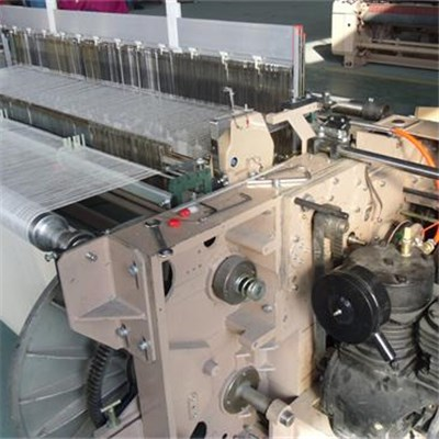 Air Jet Loom With Independent Air Pump