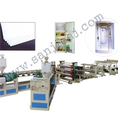 PP Solid Sheet Extrusion Line SJ120