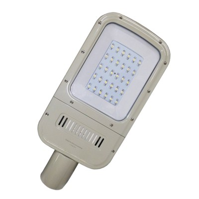 White Housing LED Street Light