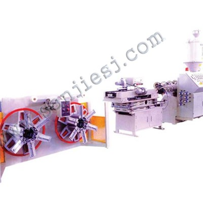 PP Single Wall Corrugated Pipe Extrusion Line SJ65