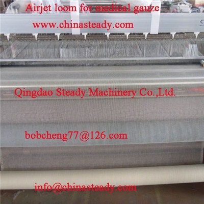 Air Jet Loom For Medical Gauze