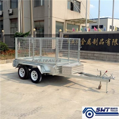 Tandem Cage Trailer 9x5