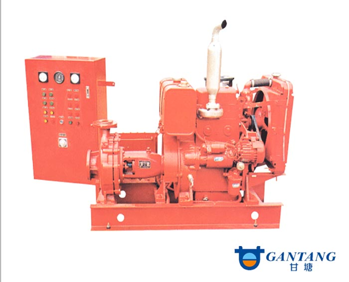 diesel driven fire pump XBC Diesel Fire Pump