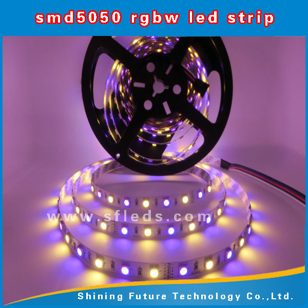 4-in-1 led strip RGBW,smd5050 led strip( 4 in 1 strip ) with RGBW light