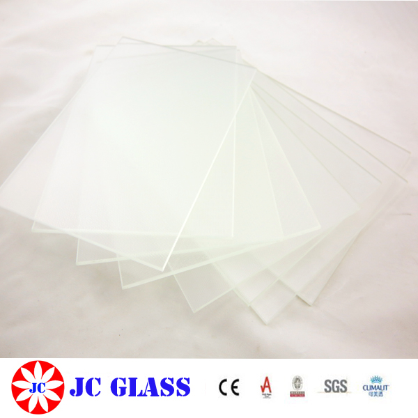 4mm Normal Iron Tempered Glass For Glass Panel