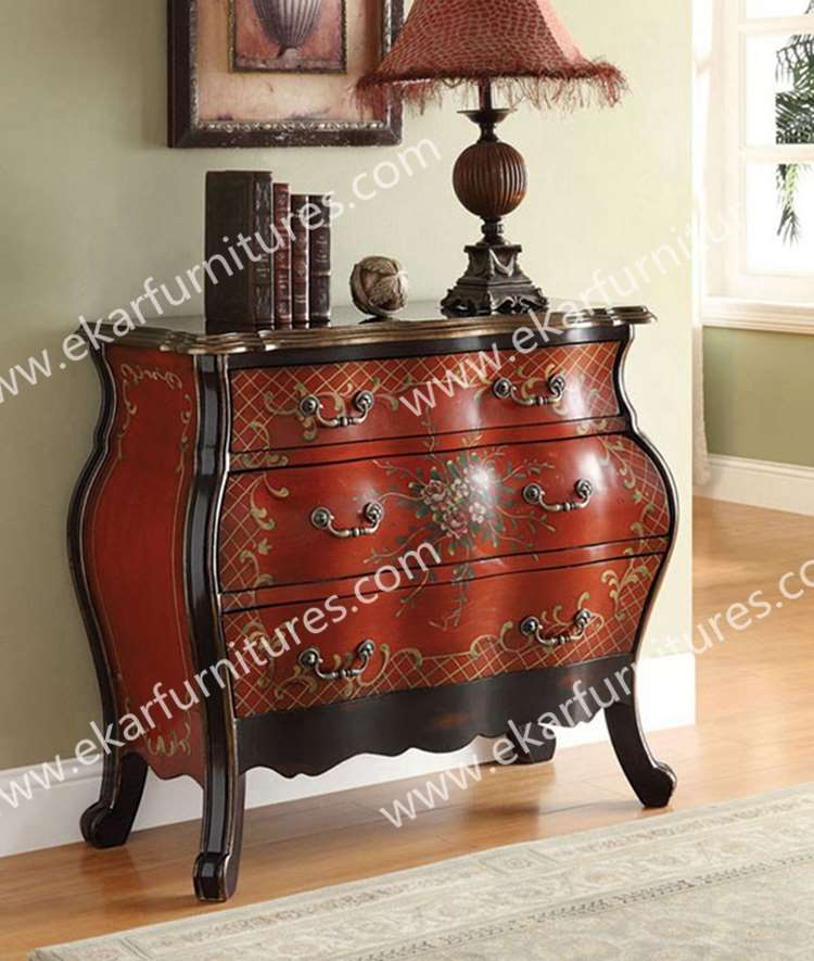 Ekar Furniture Alibaba China Supplier Wood Chest Of Drawers