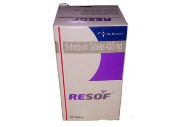 Resof 400 mg Sofosbuvir Dr. Reddys Tablets