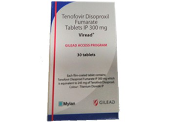 Viread 300 mg Tenofovir  Gilead Tablets