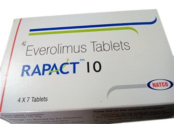 Rapact Everolimus 10 mg Natco Tablets