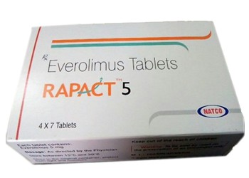Rapact Everolimus 5 mg Natco Tablets