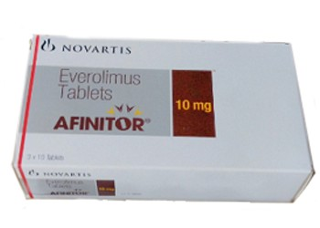 Everolimus 10 mg Afinitor Novartis Tablets