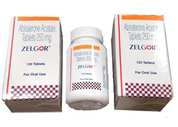 Abiraterone 250 mg Zelgor Ranbaxy tablets
