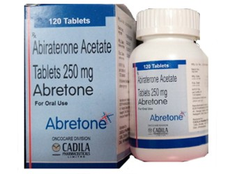 Abiraterone 250 mg Abretone Cadila tablets