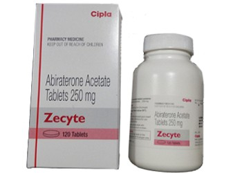 Abiraterone 250 mg Zecyte Cipla tablets