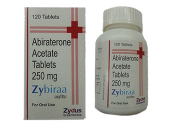 Abiraterone 250 mg Zybiraa tablets
