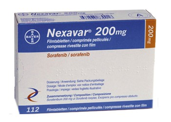 Bayer Nexavar 200 mg Sorafenib tablets