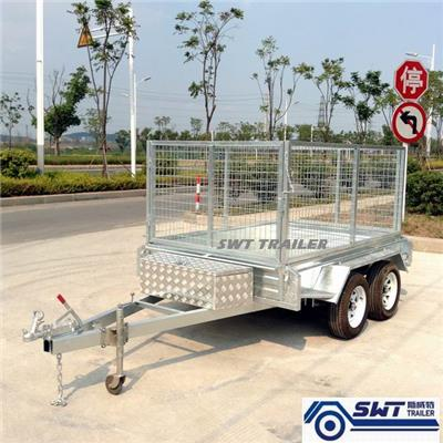 Tandem Cage Trailer 8x5