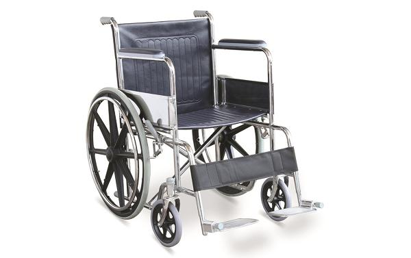 Economic Manual Wheelchair With MAG Wheels