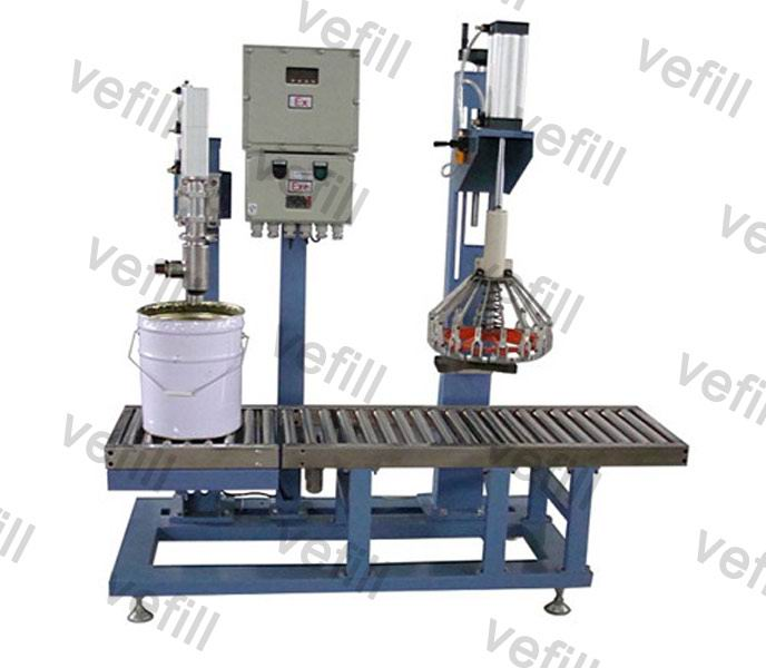 semi automatic filling machine Semi Automatic Explosion-proof Paint Filling Machine