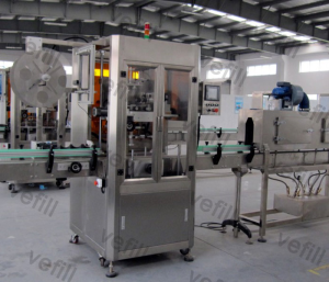 shrink sleeve labeling machine VTB-150 Fully Automatic Sleeve Labeling Machine