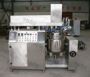 300L Cream Vacuum Emulsification Mixing Machine