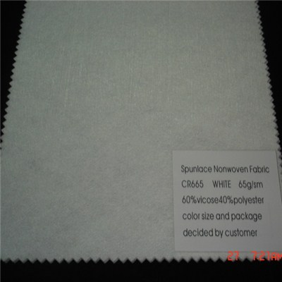 CR665 Spunlace Nonwoven Fabric