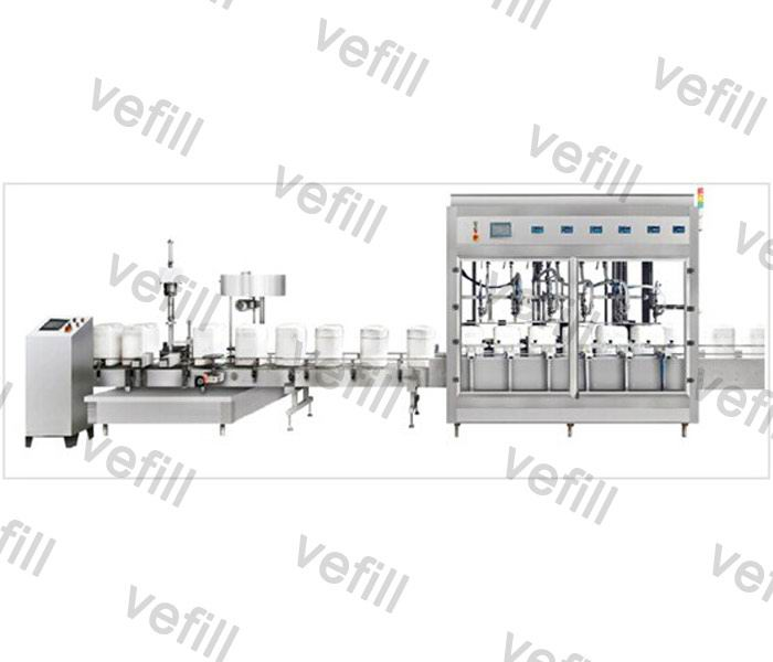 10-30KG Barrel Filling、capping Production Line