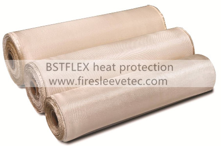 Heat Flame Resistant Silica Fabric
