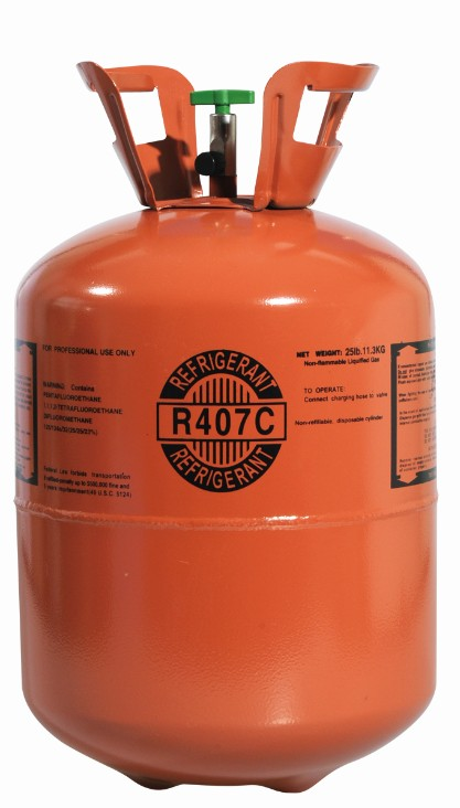 R407c Refrigerant Gas with High Purity 99.9%