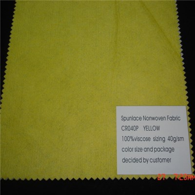 CR040P Spunlace Nonwoven Fabric