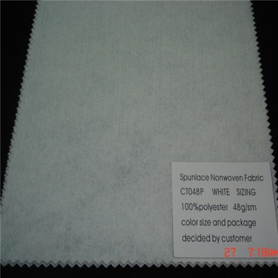 CT048P Spunlace Nonwoven Fabric