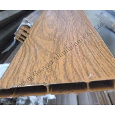 Aluminum Wooden Finish