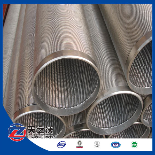 Water Treatment Stainless Steel Johnson Strainer Screen