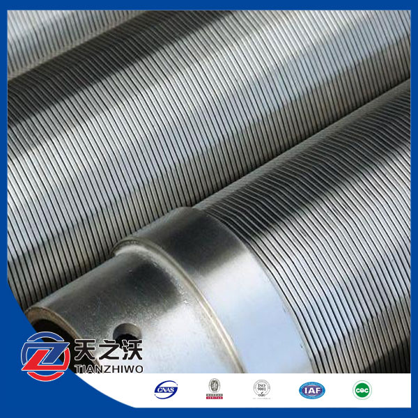 Wedge wire screen/Stainless Steel Johnson wire water well screen