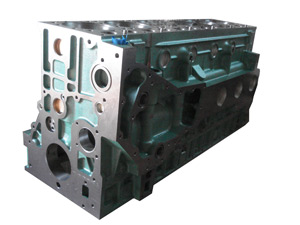cylinder block used for sinotruk howo truck engine