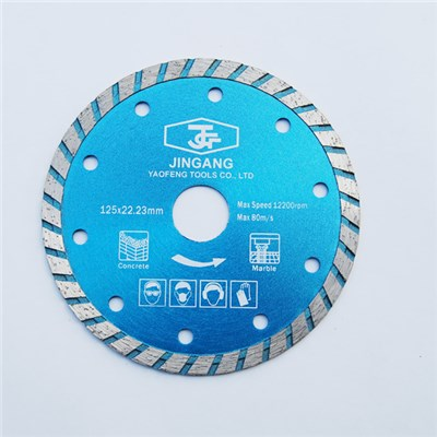 Sintered Turbo Diamond Saw Blade 125 X 22.23mm