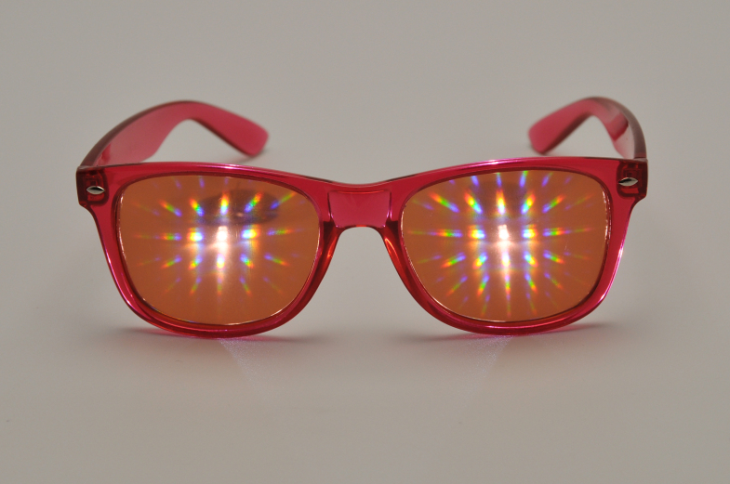 Plastic Rainbow Glasses Most Popular Model In USA