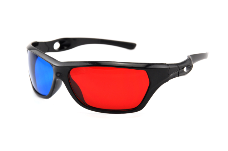 red cyan 3d glass Cheap But Good Quality 3D Glasses Red Cyan