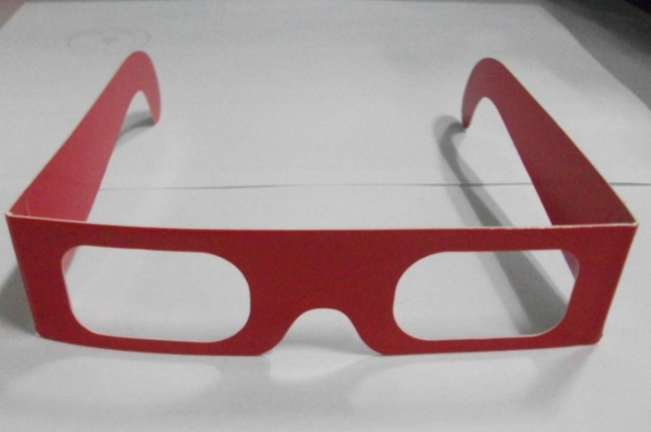 Paper Spectural 3D Glasses
