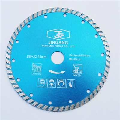 Diamond Saw Blade Sintered Turbo180 X 22.23mm