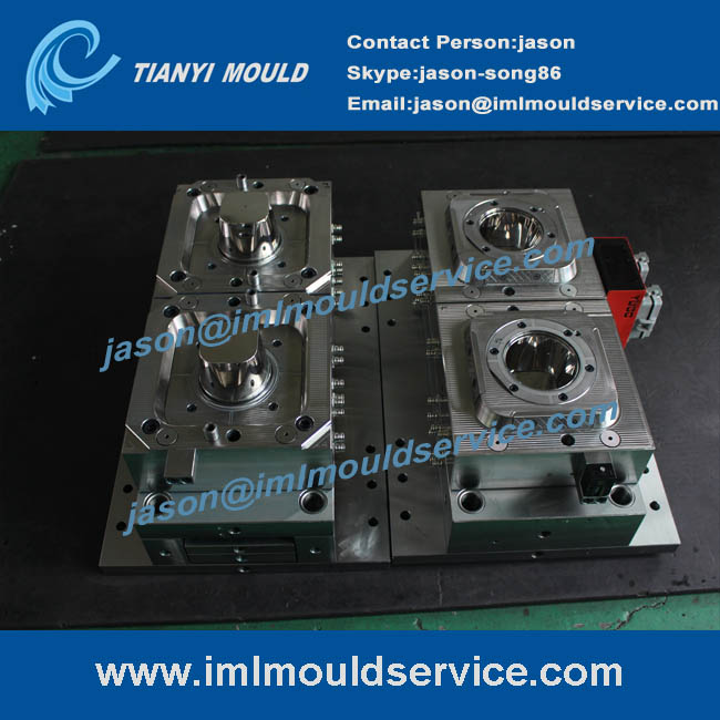 thin wall cup mould, thin wall injection mould