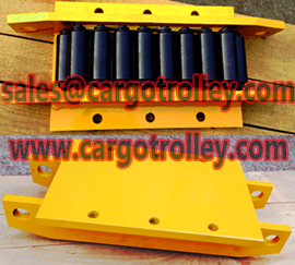 Steel chain roller skids capacity can be more than 2000 tons