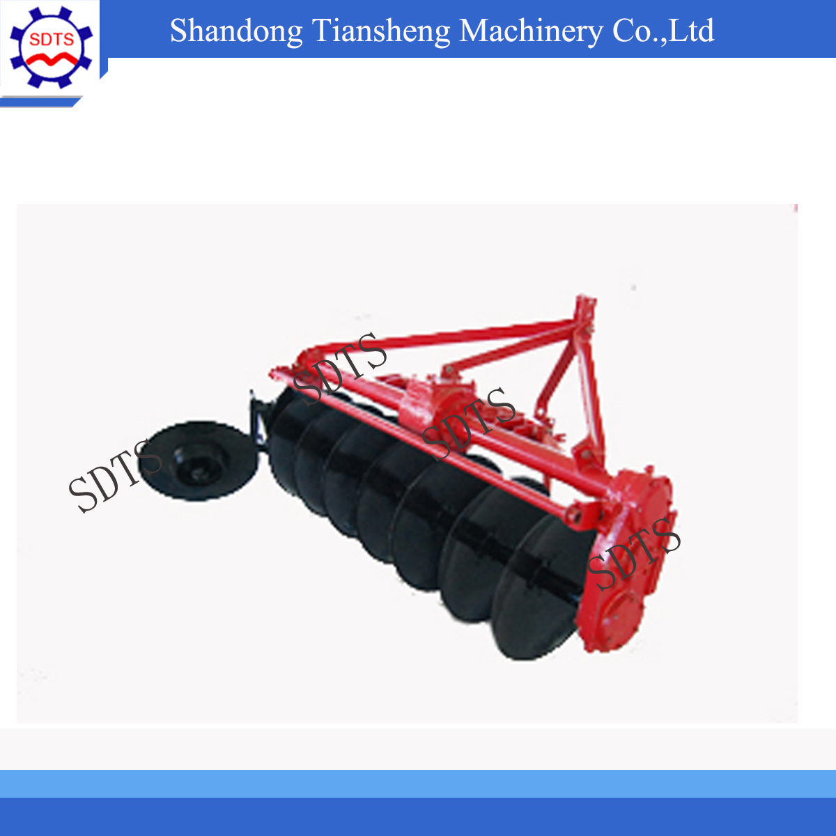 1LYQ-722 Farming rotary-driven Driven disc plow /plough made in China