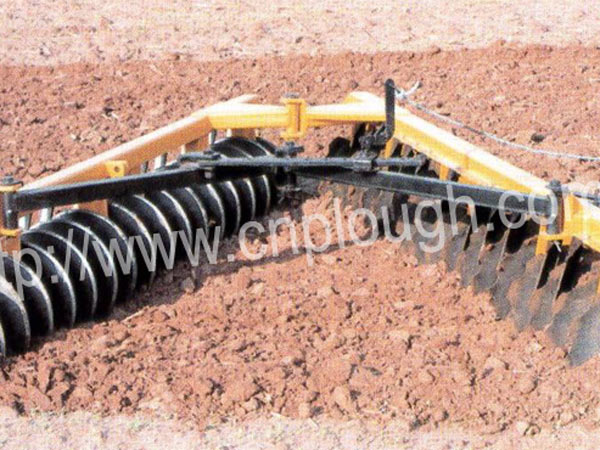 TAH-36  Hinge type trailed offset  disc harrow with wheels for Brazil