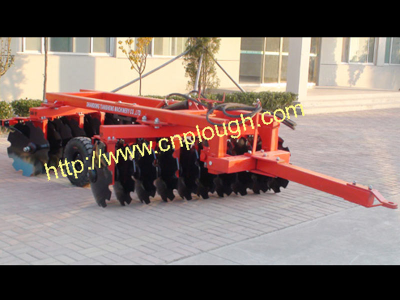 1BZ-2.2 hydraulic trailed heavy duty offsetdisc harrow for tractors