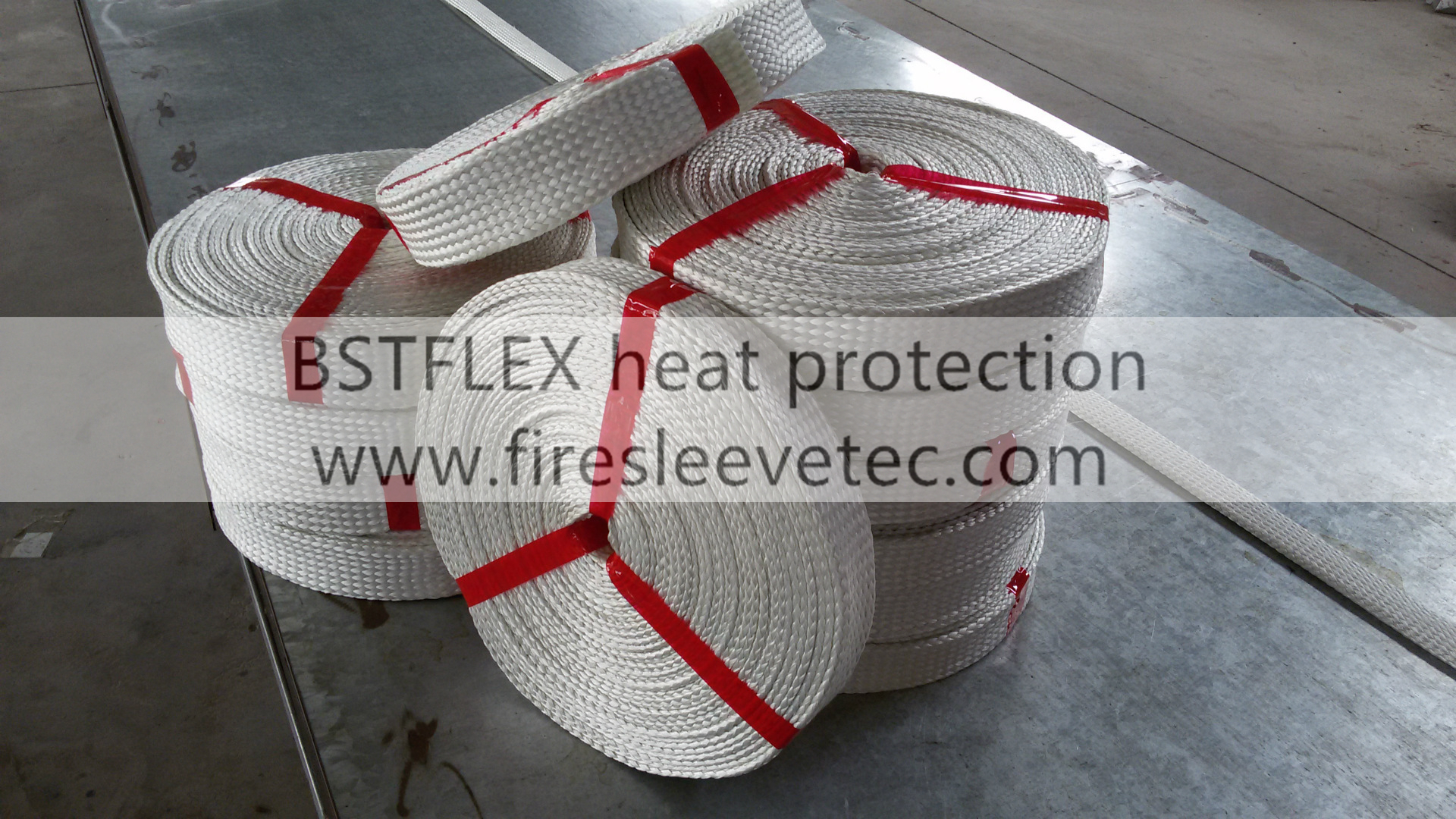Fiberglass Heat Resistant Wire Sleeve/Heat Insulation Materials ...