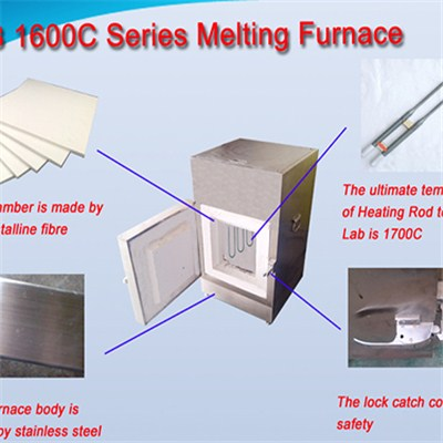 1600C High Temperature Furnace JC-B-1600