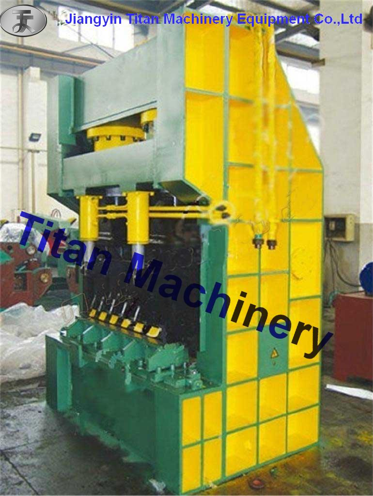hydraulic metal gantry shear