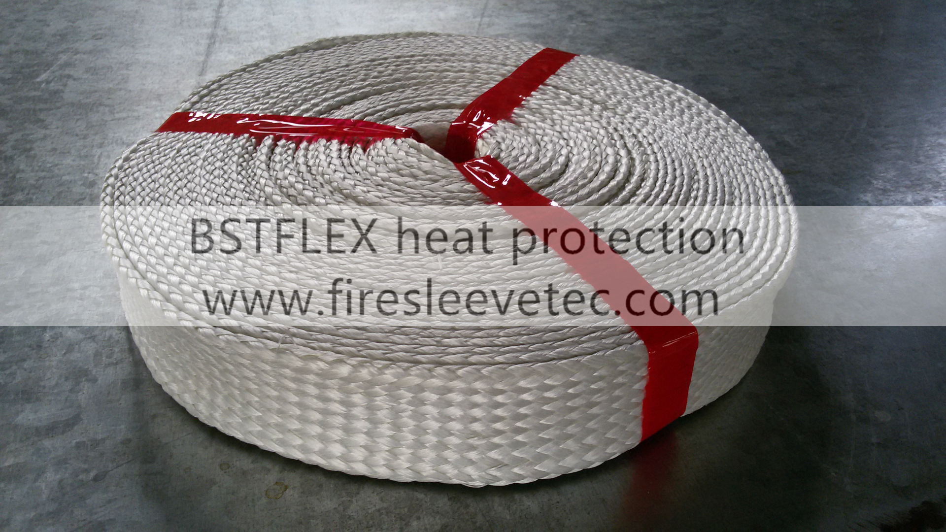 Thermal Insulating Fiberglass Sleeve